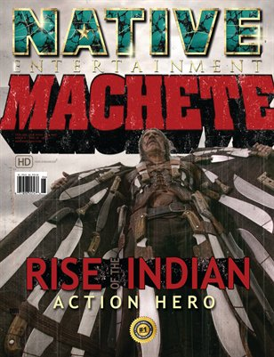 Collectors Edition: MACHETE ISSUE - Last of the Decade: Alternate cover #1