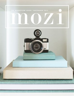 Mozi Magazine, December 2015, Workflow
