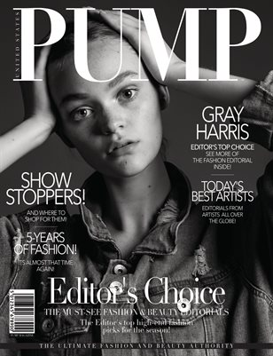 PUMP Magazine - Editor's Choice - August 2018