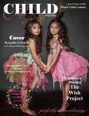 Child Couture Magazine Issue 9 Volume 10 2020 Flower Child Couture