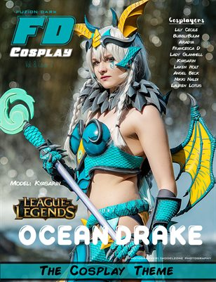 Fuzion Dark Kyasarin Cosplay VOL 8 Cover2
