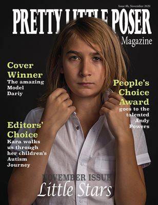 Pretty Little Poser Model Magazine - 8b - Little Stars - November