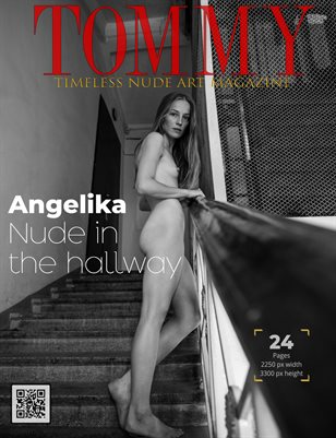 Angelika - Nude in the hallway