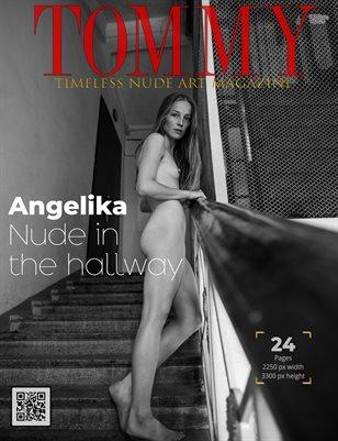 Angelika - Nude in the hallway
