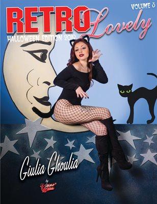 Retro Lovely Halloween 2019 Volume No.3 – Giulia Ghoulia Cover