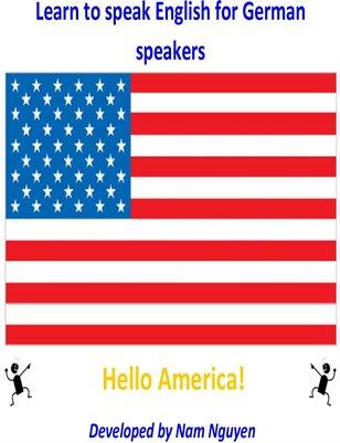 Learn to Speak English for German Speakers