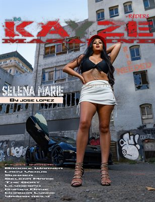 Kayze Magazine issue 34 - selena Marie - Riders