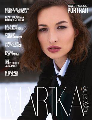 MARIKA MAGAZINE PORTRAIT (ISSUE 734 - MARCH)