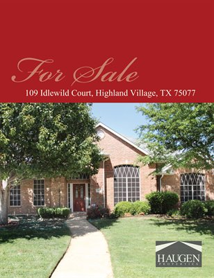 109 Idlewild Court, Highland Village, TX 75077