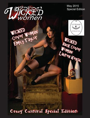 WICKED Women Magazine- Crazy Carnival Special Edition: May 2015