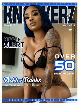 KNOCKERZ MAGAZINE #12 (ASHLEE BANKS)