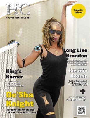 Issue #58 - De'Sha Knight