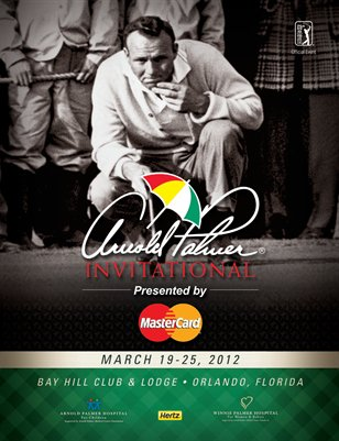 2012 Arnold Palmer Invitational Official Souvenir Program