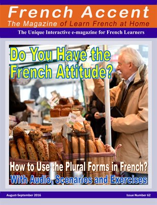 French Accent Magazine - August-September 2016