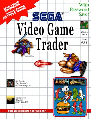 Video Game Trader #31 (Winter 2014) Version B