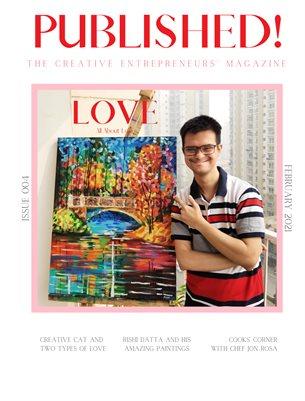 PUBLISHED! The Creative Entrepreneurs' Magazine Issue 004