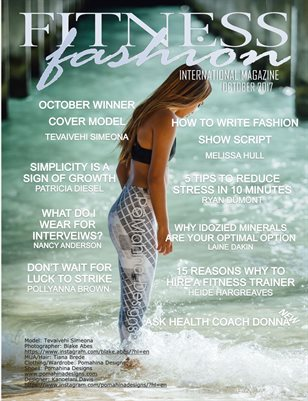 International Fitness Fashion Magazine Oct 2017