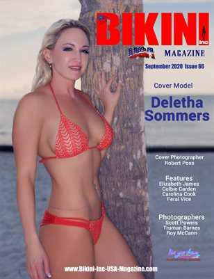 BIKINI INC USA MAGAZINE - Cover Model Deletha Sommers - September 2020