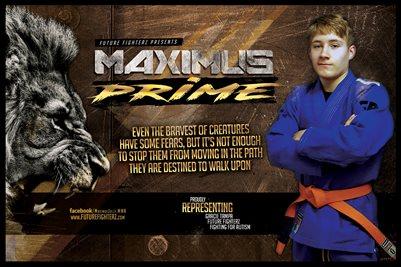 Maximus Prime Lion Poster