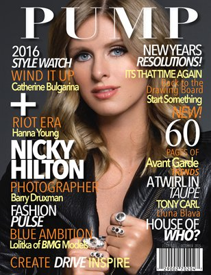 PUMP Magazine - Nicky Hilton Fashion Edition - Issue 52