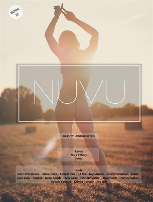 Nuvu Magazine Nude Book 72 Featuring Sonya