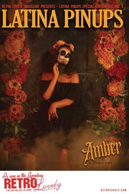 Latina Pinups Special Edition Vol.3 – Amber Cover Poster