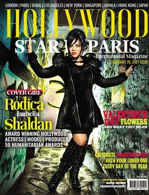 Hollywood Star in Paris Magazine février 2021
