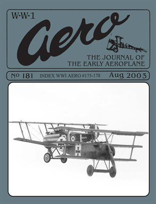 WW1 Aero #181 - August 2003