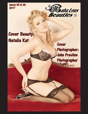 Baba Lous Beauties-Anything Pin Up Issue 35 & 36: 2017
