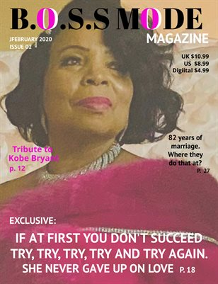 B.O.S.S Mode Magazine February Edition 2020