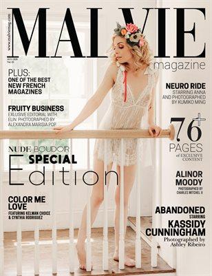 MALVIE Mag | NUDE & Boudoir Vol. 05 | August 2020