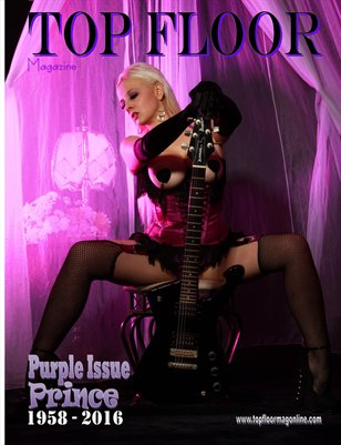Top Floor Magazine Purple Issue 1