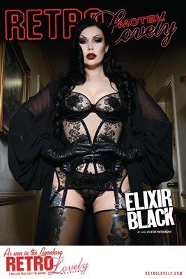 MOTEL 2021 Special Edition Vol. 3 – Elixir Black Cover Poster
