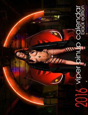 2016 Viper Pinup Calendar - Standard Black Edition
