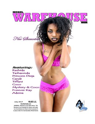 Nae Shauntae Model WAREHOUSE Magazine