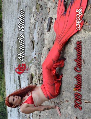 GG Absinthe Widow 2019 Nude Calendar