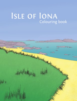 Isle of Iona Colouring Book