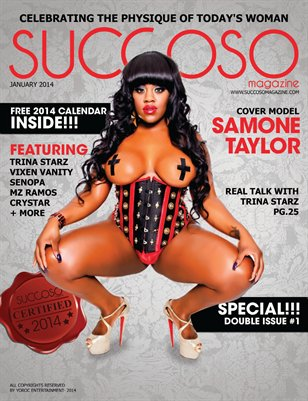 Succoso Magazine Double Issue #1 ft Cover Model Samone Taylor