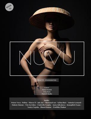 Nuvu Magazine Nude Book 75 Featuring Irina Ram