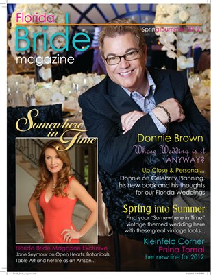 Florida Bride Magazine Spring/Summer 2012