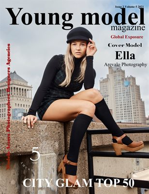Young Model Magazine Issue2 Volume 5 2021 City Glam