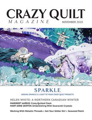 Crazy Quilt Magazine November 2020