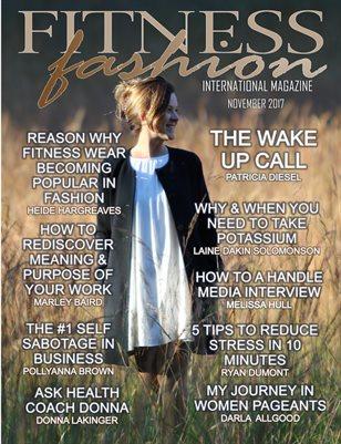 International Fitness Fashion Magazine Nov 2017