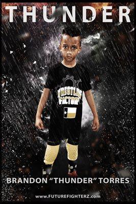 Brandon Torres Rain Poster