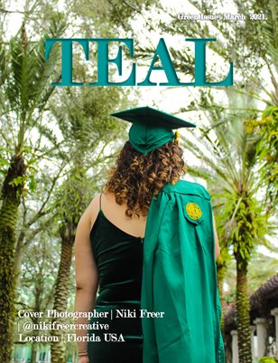 Teal Magazine Green Issue
