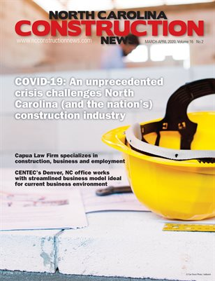 North Carolina Construction News (March/April 2020)