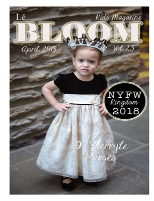 Le Bloom Kids Magazine Analise Santana