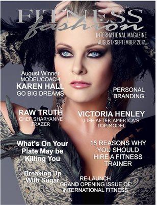 International Fitness Fashion Magazine Aug/Sept 2017