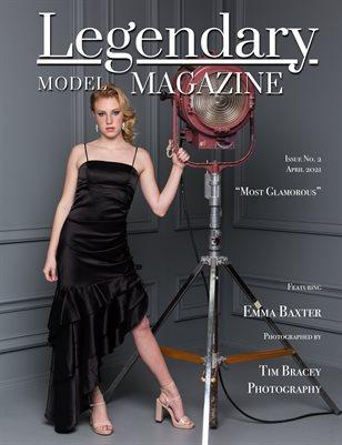 Issue No. 2 - Most Glamorous - Legendary Model Magazine