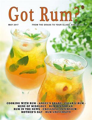 """""""Got Rum?"""" May 2017"""